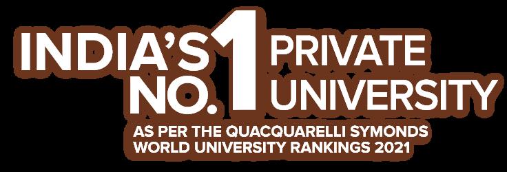 India's No. 1 Private Univeristy